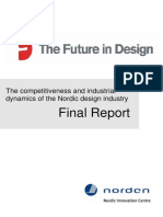 The Future in Design - The Competitiveness and Industrial Dynamics of the Nordic Design Industry