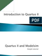 Introduction to Quartus II