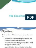 1987 Constitution & Preamble
