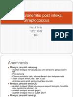 Glomerulonefritis Post Infeksi Streptococcus