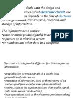 Electronics by Sir Joel