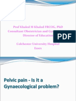 Pelvic Pain story of patient
