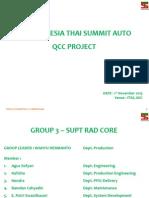 Qcc Group 3-Supt Rad Core