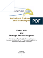 Agricultural Engineering and Technologies
