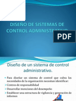 Diseño de Sistemas de Control Administrativo (1)