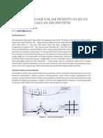 Gouw:Faktor Elongasi Dalam Penentuan Kuat Tarik Dan Kekakuan Geosintetik