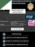 Alfa-Amilasa Salival Como Un Biomarcador No Invasivo Para