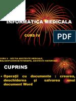 Curs 4 Informatică Medicală Și Biostatistică 2