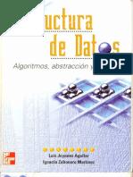 Estructura de datos. Luis Joyanes Aguilar(Portada)