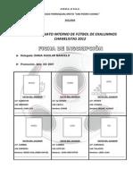 Ficha de Inscripcion Vii Campeonato de Exalumnos[1]