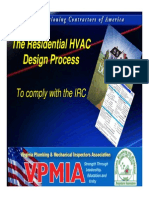 The Residential HVAC Design Process