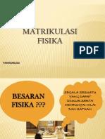 FISIKA MATRIKULASI 2014