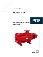 Multitec a Sx Operating Instructions