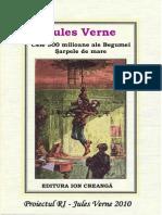 Jules Verne 11 Cele Cinci Sute de Milioane Ale Begumei Sarpele de Mare