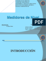 Presentacion Dinamica Medidores de Nivel