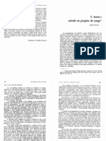 AULA 05 - CICOUREL, A. Teoria e Método Em Pesquisa de Campo. in. Desvendando Máscaras Sociais