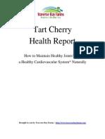 Tart Cherry Report 1