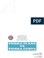 Tierra Plana vs Tierra Curva