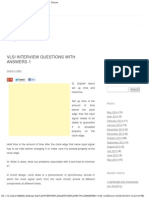 Vlsi Interview Questions With Answers-1 _ Divyum