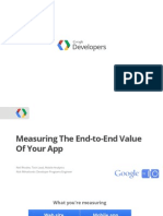 Measuring the End to End Value of Your App
