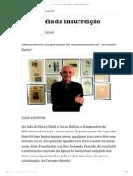 » Filosofia Da Insurreição — Revistacult.uol.Com
