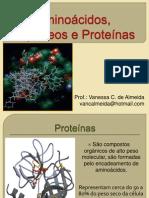 Aminoacidos, Peptideos e Proteinas_aula5