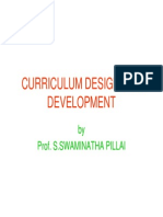Curriculum Design and Development-1