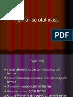 Hernia+scrotal mass
