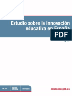 Estudio Innovación Educativa