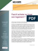 Acheter Louer Meilleurtaux Etude2013