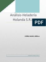 Analisis Heladeria Holanda