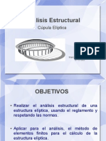 Análisis Estructural de Una Cúpula Elíptica