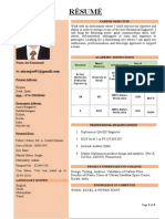 Mechanical Engineer _Nixon Joe Resume