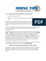 Turbine Tip - Functional Testing,