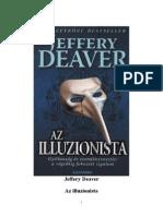 ba1ffe4903 Jeffery Deaver - Az Illuzionista