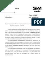 Teóricos Desgrabados Pensamiento Argentino y Latinoamericano 2007