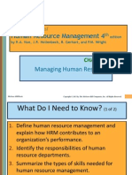 1. HR Strategy- Performance - Intro to HRM- Tuzuner