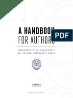 Author Handbook