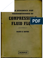 The Dynamics and Thermodynamics of Compressible Fluid Flow-Shapiro