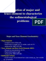 Application of Major and Trace Element