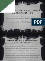 Religia in secolul XX