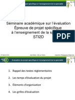 Evaluation Du Projet 29-01-2013 Jean Mace