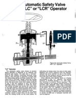 Cameron Automatic Safety Valve Model LC or LCR