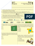 Prova Obmep Nivel 1-2014
