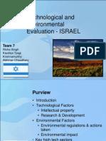 ISRAEL Tech & Envi Analysis