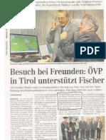 Tiroler Tageszeitung, 25. November 2009
