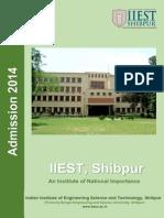 Information Brochure of Dual Degree B Tech-M Tech Course 2014-15