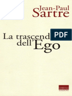 Sartre - La Trascendenza Dell'Ego SCAN