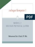 Modul 2 OSI Dan Physical Layer