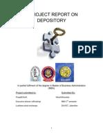 60834965 Depository Project for Ludhiana Stock Exchange PTU Punjab Technical University by Hiresh Ahluwalia